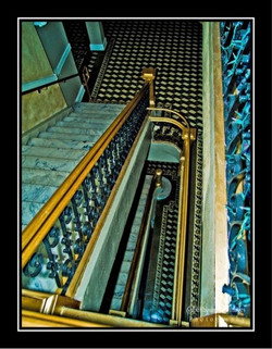 Infamous marble staircase
