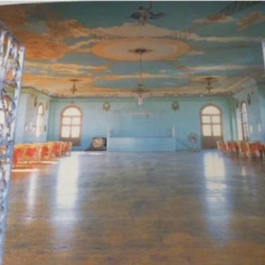 Salon de Baile prior to restoration.