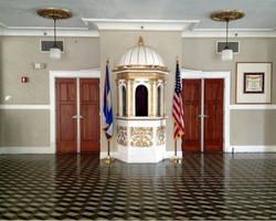 Second floor, main entrance