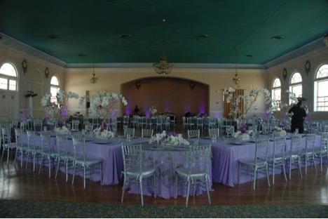 """The Ballroom"" decorated"