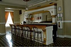 Second floor, main lobby bar area