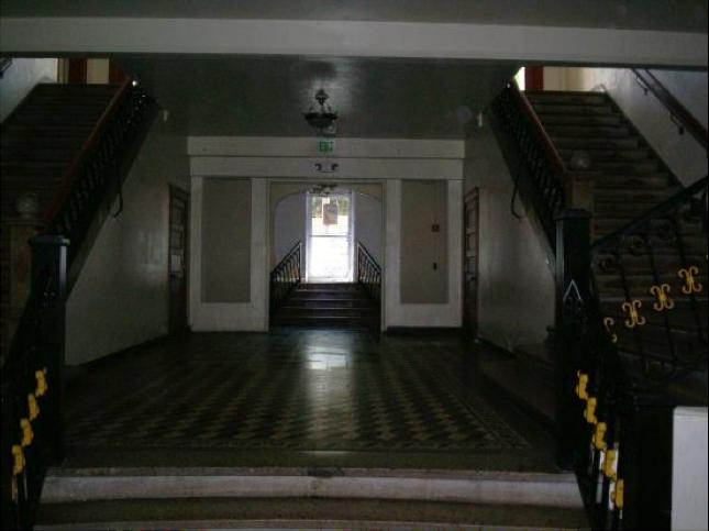 First floor, La Cantina (basement)