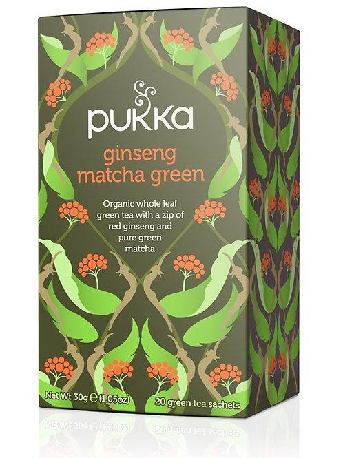Pukka Ginseng Matcha Tea