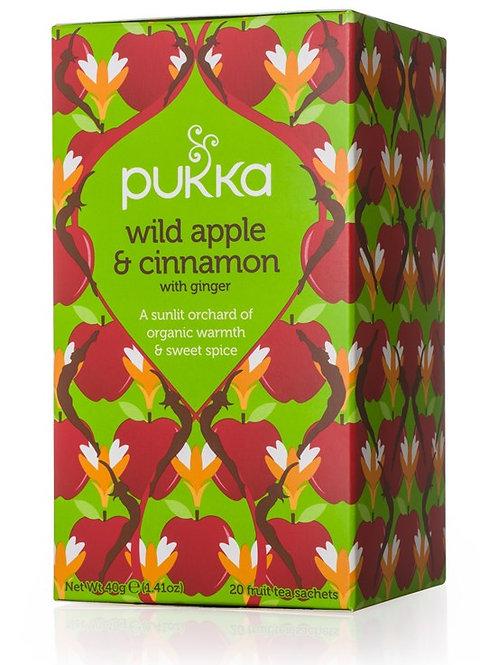 Pukka Wild Apple and Cinnamon Tea