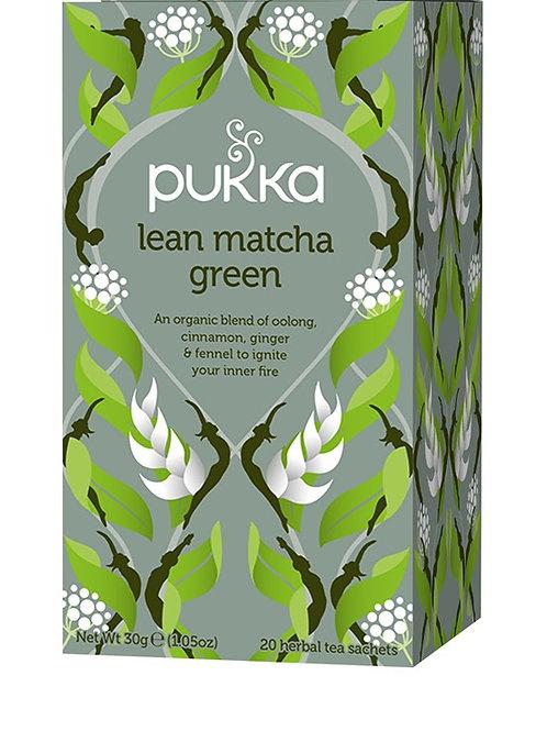 Pukka Lean Matcha Green Tea