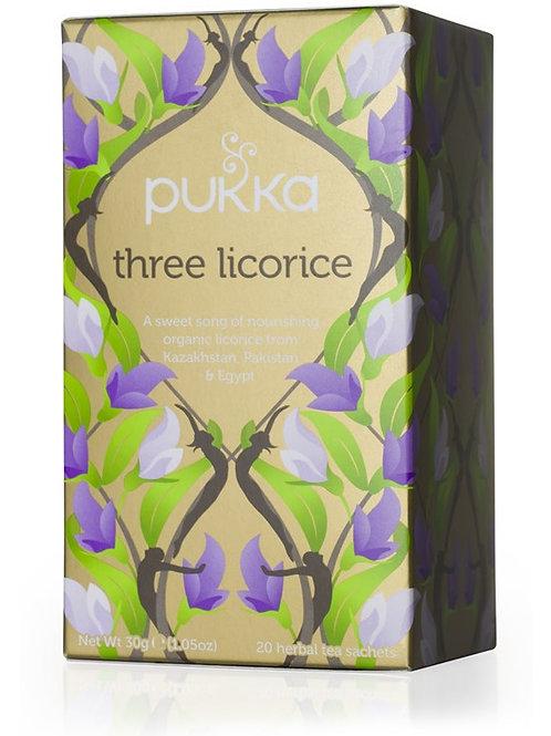 Pukka Three Licorice Tea