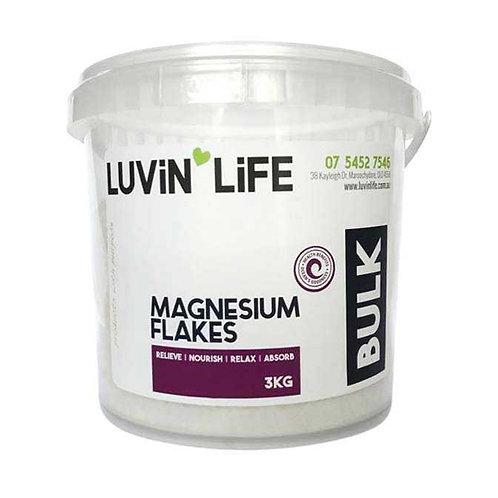 3kg Bucket Magnesium Flakes
