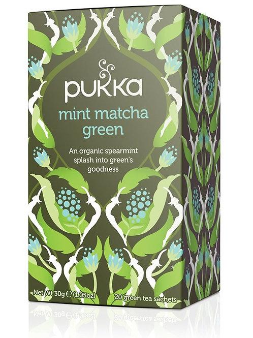 Pukka Mint Matcha GreenTea