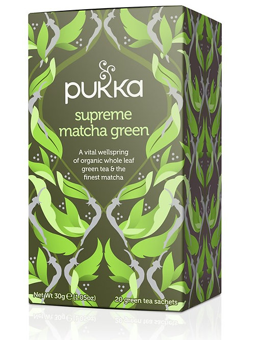 Pukka Supreme Match Green Tea