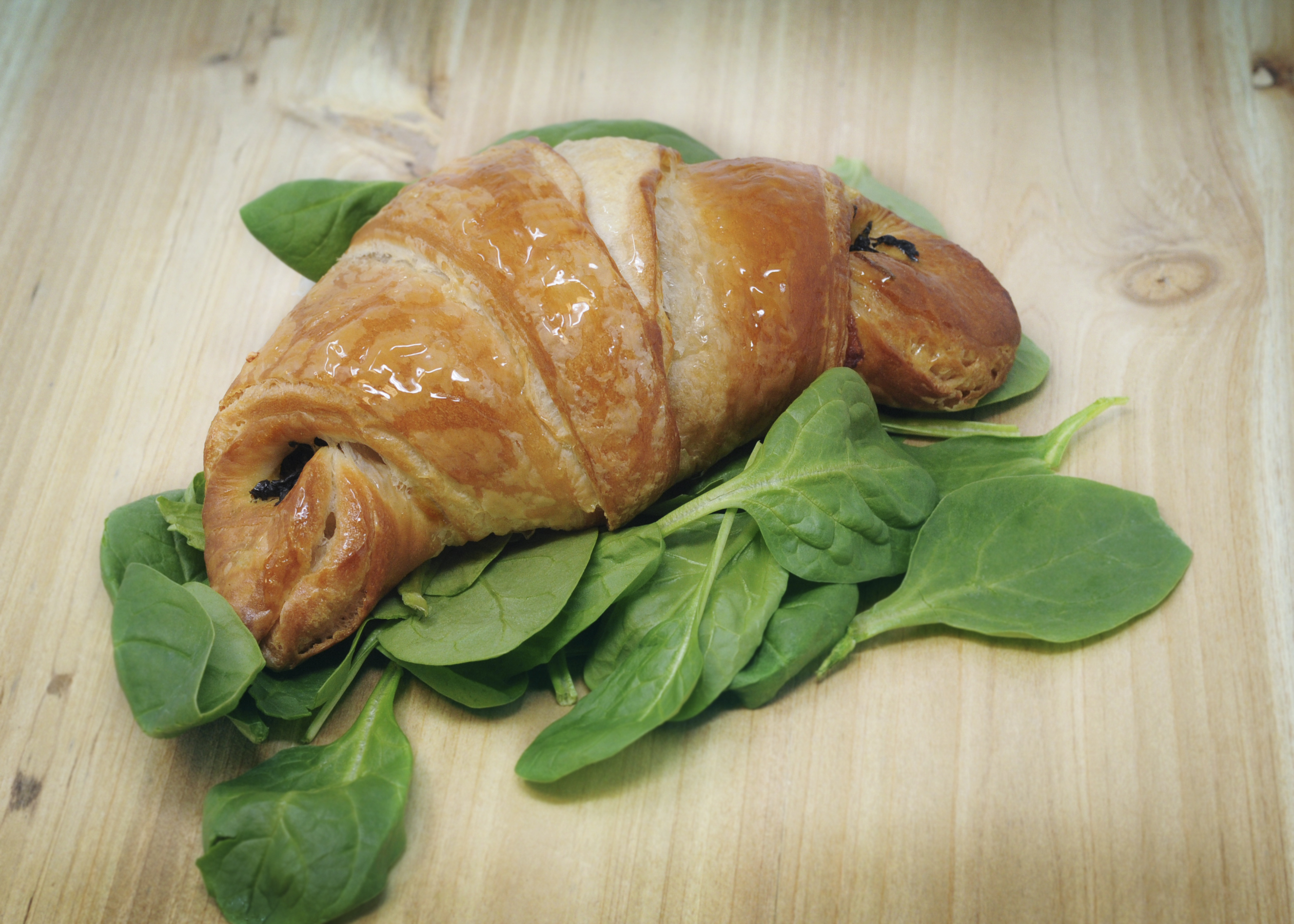Spinach & Swiss Croissant