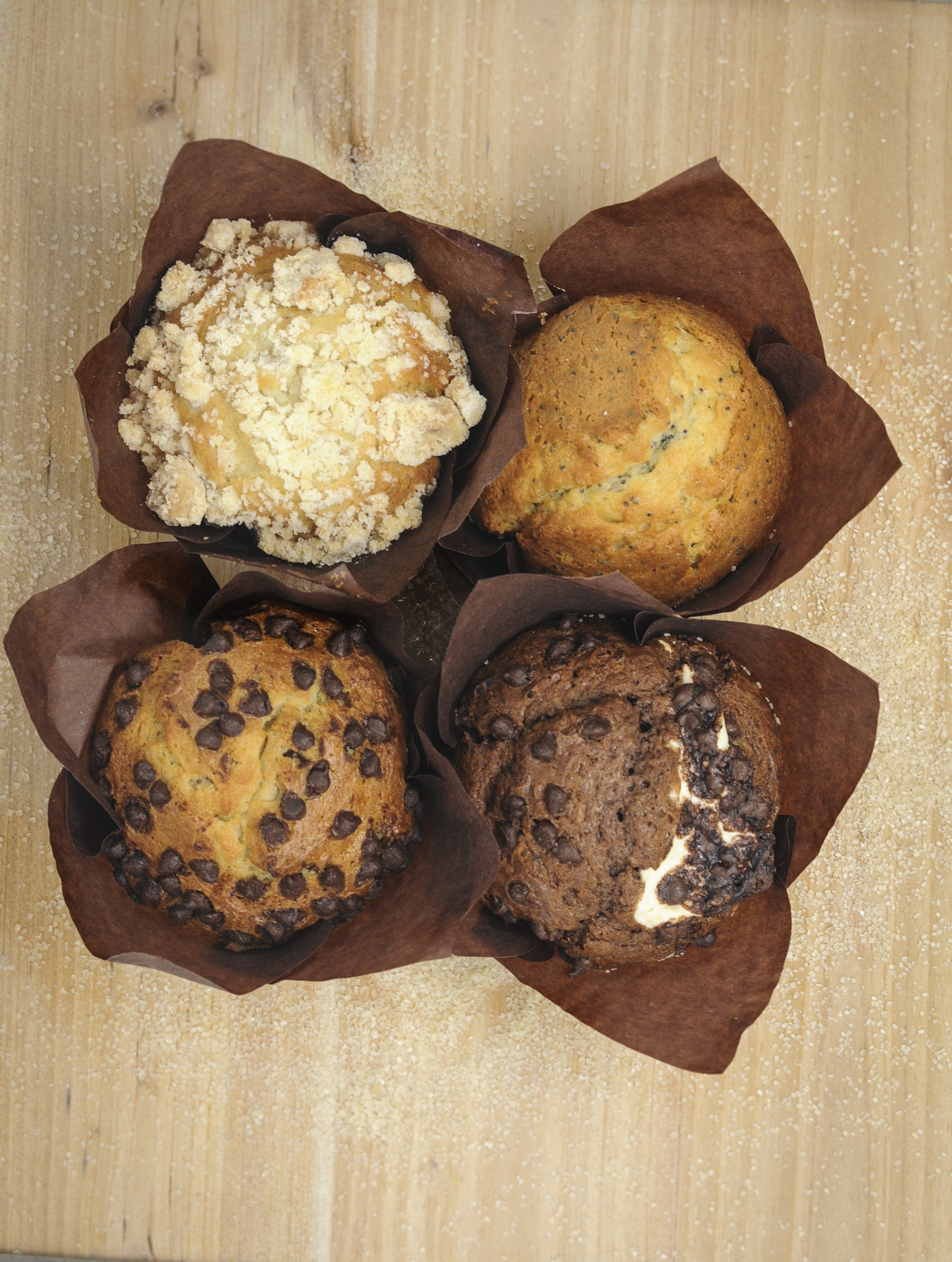 Assorted Tulip Cup Muffins