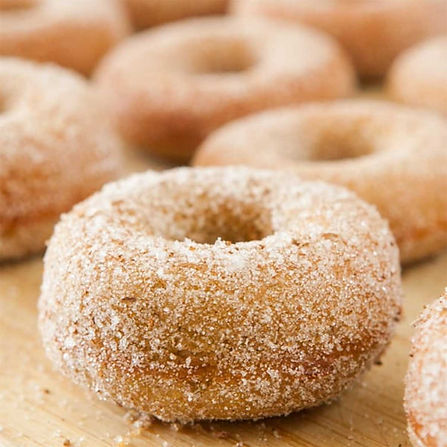 Cinnamon Cake Donut