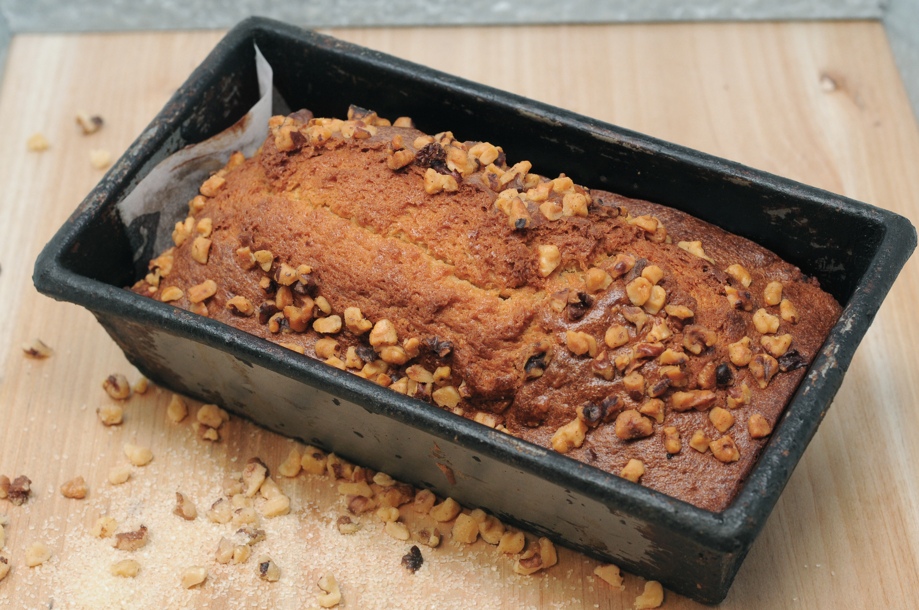 Banana-Nut Sweet Bread