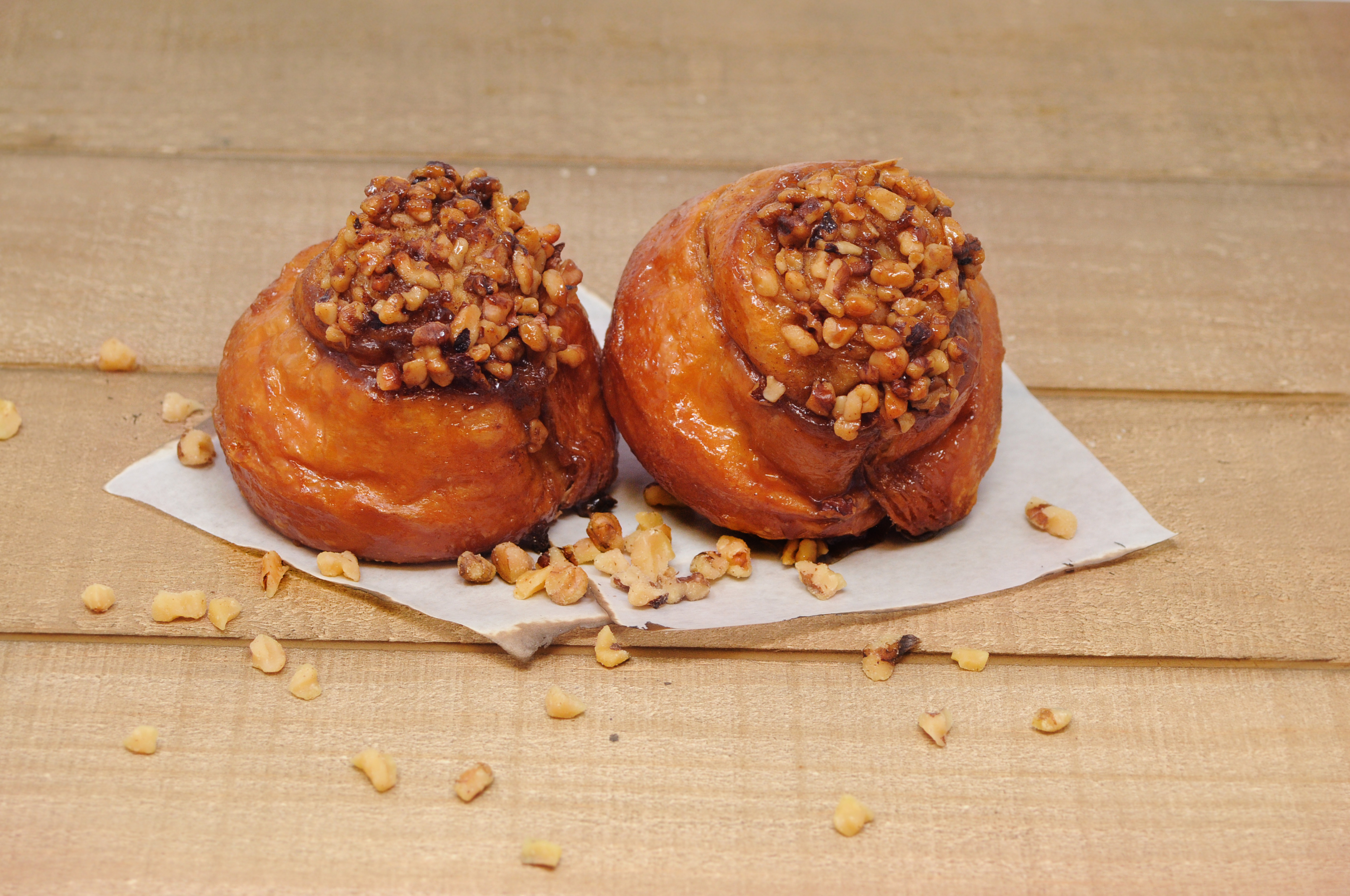 Walnut Sticky Buns