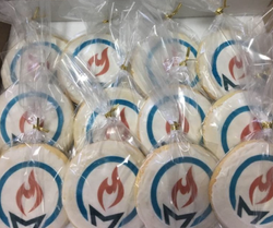 Wrapped Edible Label Cookies