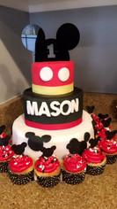 3 Tier Custom Cake