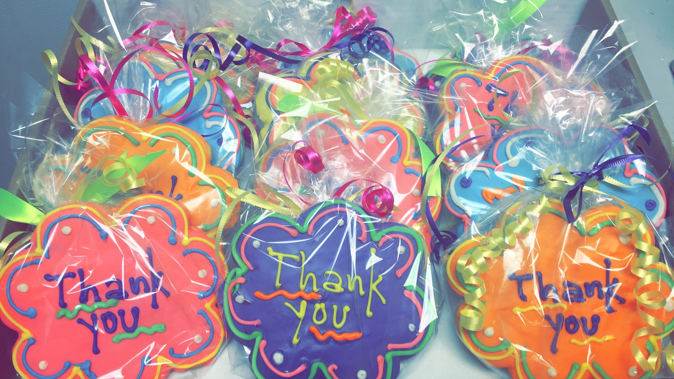 Thank you Cookies Wrapped
