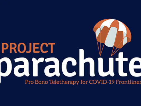 Project Parachute: Pro Bono Therapy for COVID-19 Frontliners