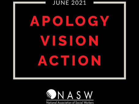 NASW apologizes for racist practices in American social work
