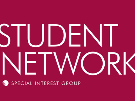 September 2019 - Student Network SIG Update