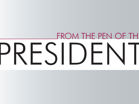 From the Pen of the President: December 2019