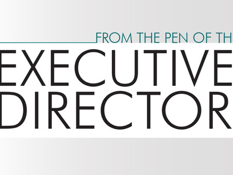 From the Pen of the Executive Director: September 2019