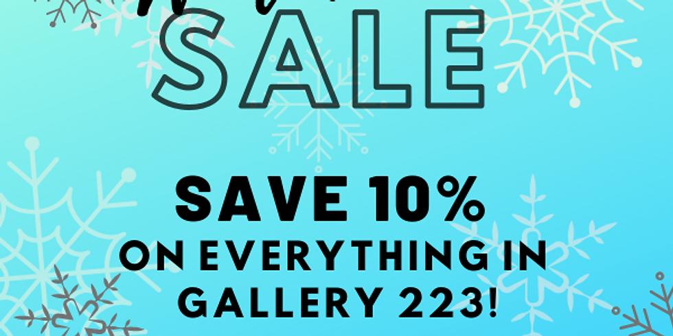 Gallery 223 Winter Show 2021