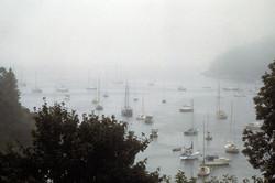 Harbor in the Fog