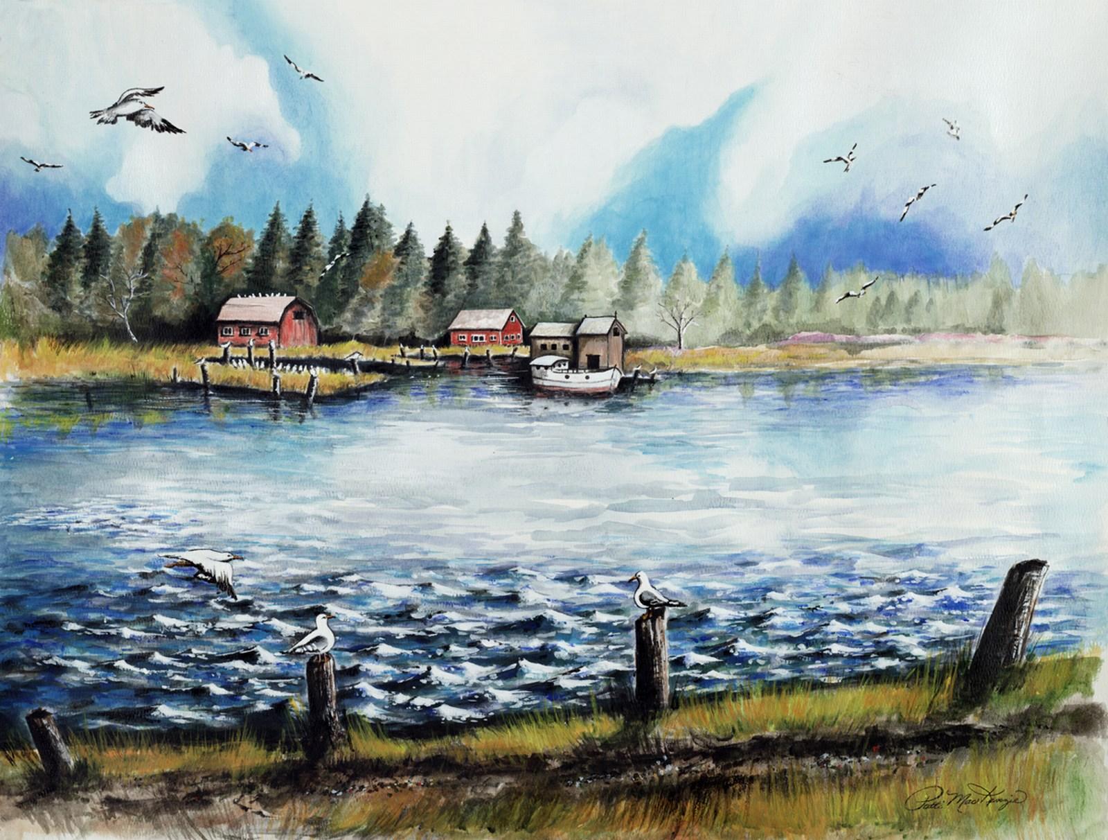 Jackson Harbor Washington Island
