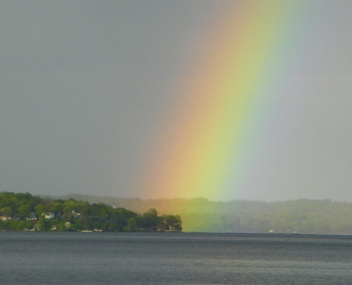 Lake Geneva Rainbow Kissed
