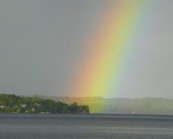 Lake Geneva Rainbow Kissed