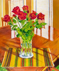 Roses in a Vase-0204