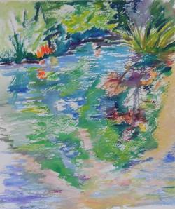 Early Morning Sunlight in Monet's