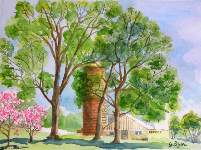 Barn on Bucksby Road