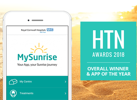 MySunrise App wins National Technology Award.