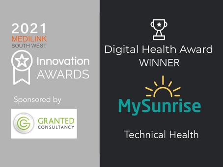 MySunrise wins Medilink SW Innovations Digital Health Award