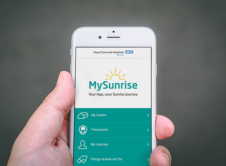 New NHS sites for the MySunrise App.