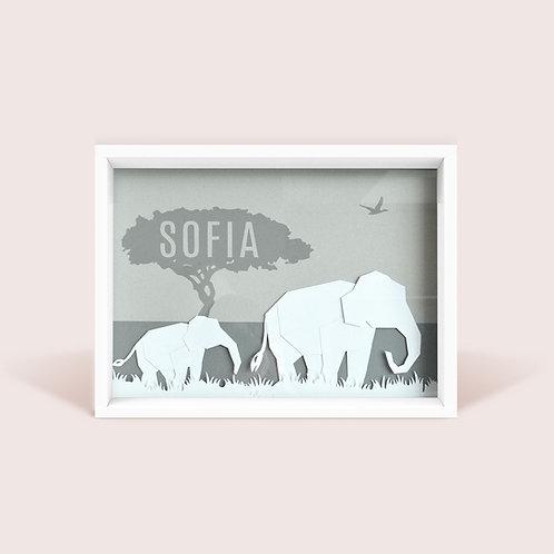 Safari Personalizado -Elefante