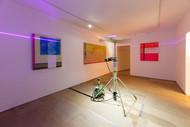 Terra firma (laser) installation view 280x200x250 cm