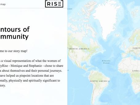 Team RiseUp's Story Map