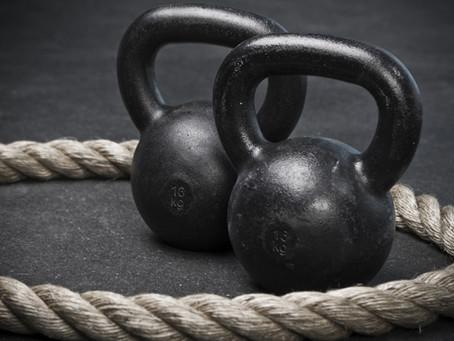 Battling Ropes & Kettlebell Conditioning