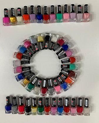 Esmaltes love +20colores 12x$650