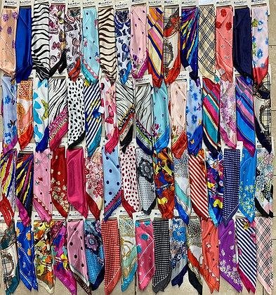 Pañuelos de seda 50x50 C.U$120
