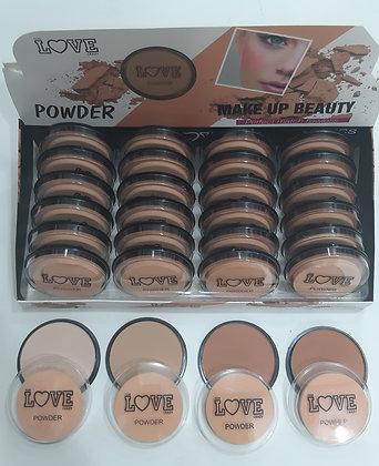 Maquillaje Polvo compacto 6 tonos $120cu