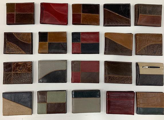 Billeteras de cuero de hombre 12x$120