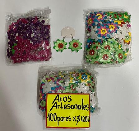 Aros OFERTAS 100 pares $1000
