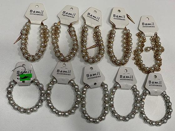 Pulseras con perlas 10×900