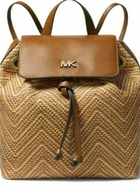 Michael Kors Junie Admiral Leather Backpack Purse