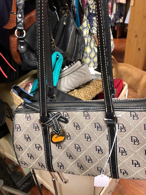 Dooney & Bourke Small Barrel Signature Bag