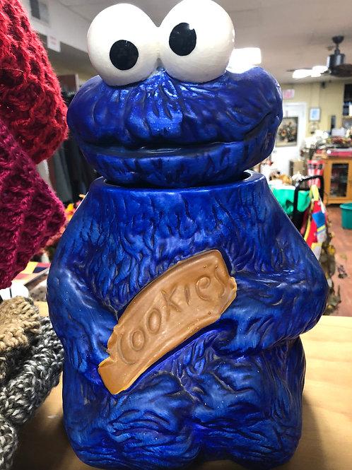 Vintage 1970s Muppets Cookie Monster Cookie Jar